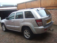 Jeep Grand Cherokee 3.0 CRD V6 Overland Station Wagon 4x4 5dr Cat C