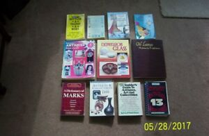 11 ANTIQUE REFERENCE BOOKS