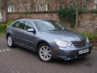 AA WARRANTY!! 2008 CHRYSLER SEBRING 2.0 CRD LIMITED 4dr, FULL LEATHER, LONG MOT, 2 FORMER KEEPERS