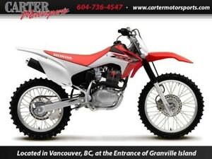 New 2016 Honda CRF150FG - SAVE $500!
