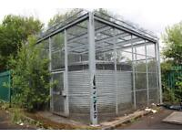 Large Galvanised Secure Storage