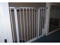 Safety gates with extension