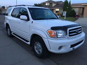 2001 Toyota Sequoia Limited 4.7L V8 4X4