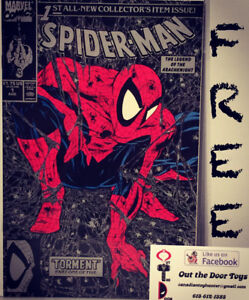 FREE Todd McFarlane Spiderman #1 Comic Book