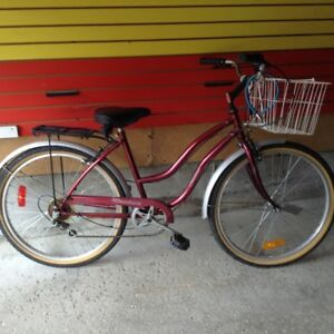 Ladies Red 5-Speed Bicycle