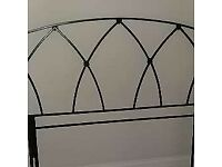Cast Iron headboard ( King size )