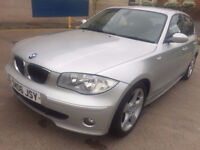 BMW 1 SERIES 2.0 120D SPORT 5d AUTO 161 BHP PARKING SENSORS, ALLOY WHEELS FULL SERVICE RECORDS