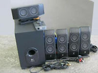 Logitech X-540 Multimedia Speaker System (5.1) (Unboxed In Good Condition In Perfect Working Order)