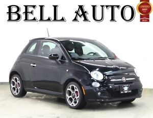 2016 Fiat 500 SPORT LEATHER POWER GROUP ALLOY