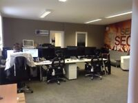 Desk Space to Rent in Small clean tidy I.T Office - VOIP Landline Phone Optional Extra