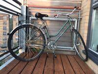 Vintage single gear bike bicycle