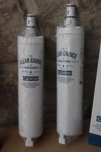 2 filters: ClearChoice CLCH100 fridge refrigerator water filter