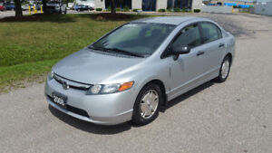 2008 HONDA CIVIC 4DR - 184KM - AUTOMATIC - $4995 SAFTIED