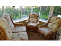 Bamboo 3 piece suite