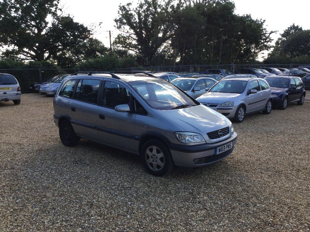2000 Vauxhall Zafira 1.8 6 Months MOT Sunroof 7 Seater Cheap Car
