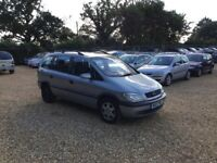 2000 Vauxhall Zafira 1.8 6 Months MOT Sunroof 7 Seater Cheap Car