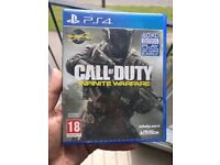 Call of Duty: Infinite Warfare Used PS4 Game, good condition, no scratches