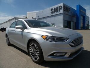 2017 Ford Fusion SE 2.0L 4Cyl - AWD, Leather Seats, Navigation,