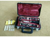 Second hand Yamaha 26II Clarinet with reeds