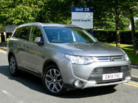 2014 14 Mitsubishi Outlander 2.2DI-D (148bhp) 4X4 (Leather) (7st) GX3