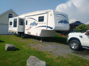 2006 Mountaineer by Montana(35' 5th Wheel) Boat Trade Considered