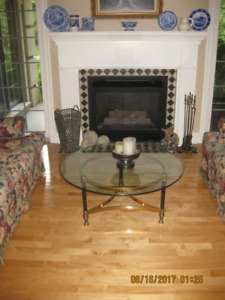 wing back chairs, antique chairs, dining chairs, coffee table