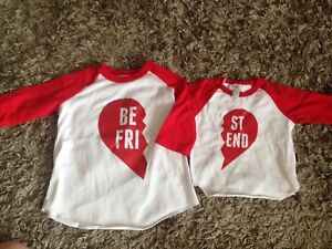 Girls matching outfits 6m/4T