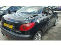 PEUGEOT 206 CC 2.0 CONVERTIBLE PX SWAPS WELCOME