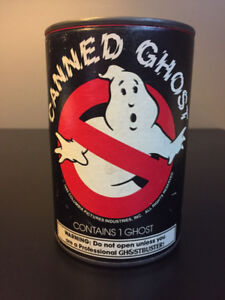 Rare Vintage 1985 Ghostbusters Canned Ghost, Unopened