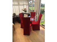 Glass dining table & chairs - cheap cheap cheap