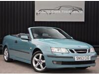 Saab 9-3 93 1.8 T Turbo Vector Convertible 150 bhp *Rare Colour + Future Classic