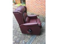 Riser Recliner Leather Armchair