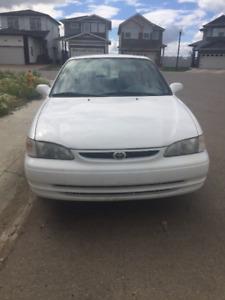 1999 Toyota Corolla LE Sedan for a reasonable price