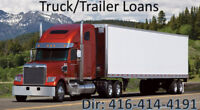 Truck/Trailer/Commercial Loans