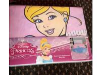 ***FOR SALE BRAND NEW DISNEY PRINCESS CINDERELLA SINGLE DUVET COVER SET & MATCHING CUSHION***