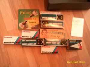 Lot Vintage pour projecteur 8mm et film 8 mm castel films