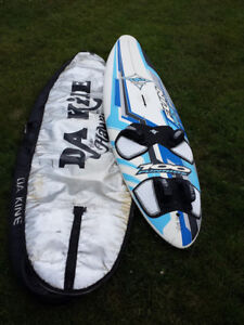 2011 JP Funride 100 liter windsurfing board and kit