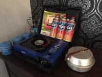 Portable gas stove and few other bits