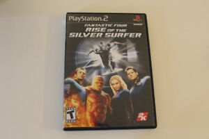 Fantastic Four Rise of the Silver Surfer PS2
