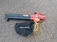 leaf blower/ hoover