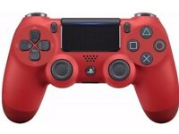 PS4 Dual shock 4 controller magma red 2016 v2 edition