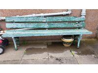 Garden bench - free