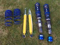 2x JOM coilovers 2x lowering springs 2x brand new Ttechnic shock absorbers
