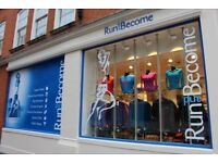 Specialist Running Shop Sales Assistant Position