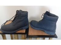 mens slate blue rare Timberland boots. accept £65 no offers. Cheers