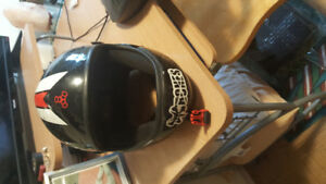 Triple 8 full face long boarding helmet