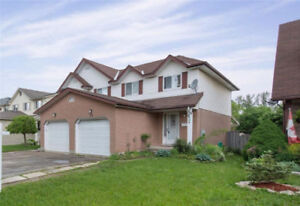 K-W Semi with large yard backing onto green space - OPEN HOUSE