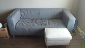IKEA love seat & modular seat section