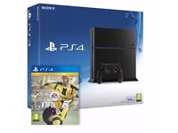 Brand new ps4 with fifa 17