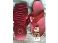 Fitflops Size 5-Pink Sequine-£15